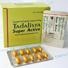 Tadalista Super Active / Тадалиста Супер Актив