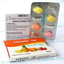 Kamagra 100 Chewable / Камагра 100 жевательная